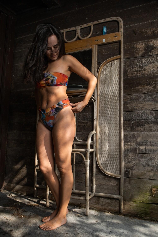 Top fascia eco bikini modello Demetra