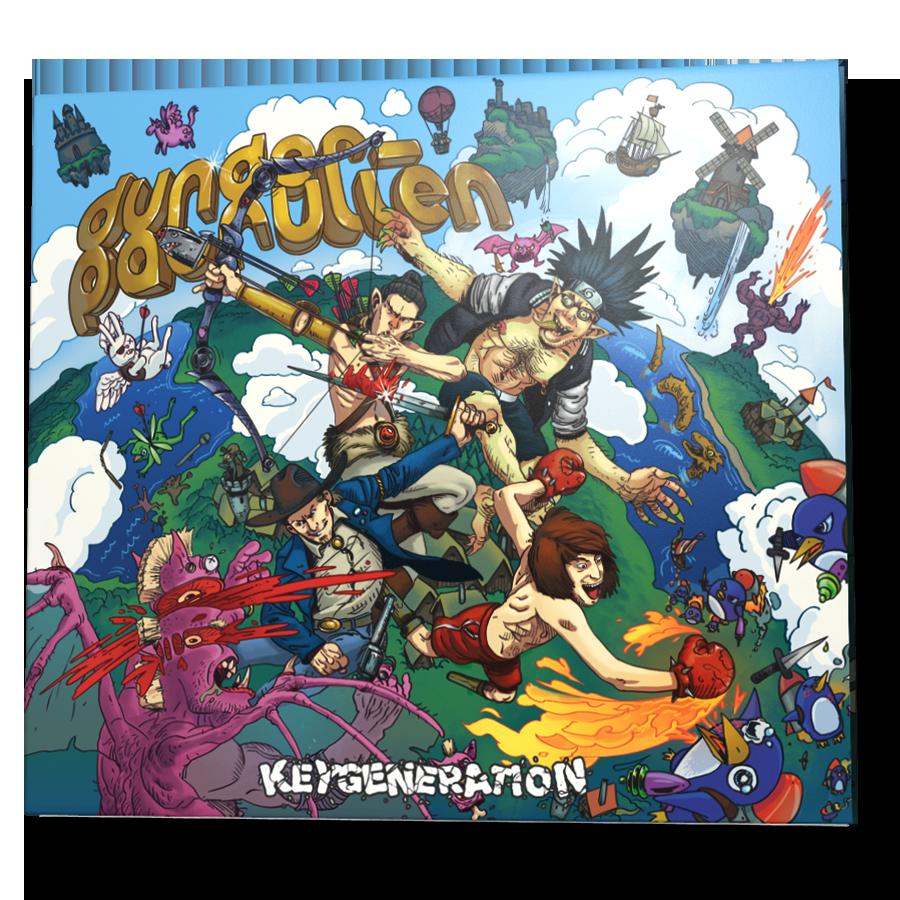 Keygeneration - Digipack