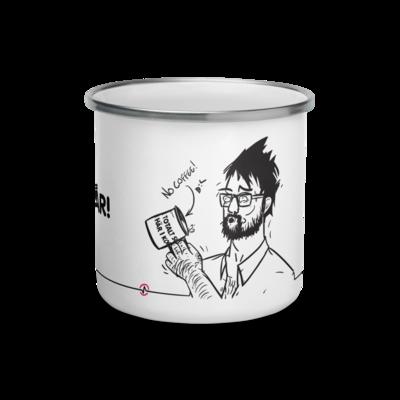 PÅ TÅR! Enamel Mug