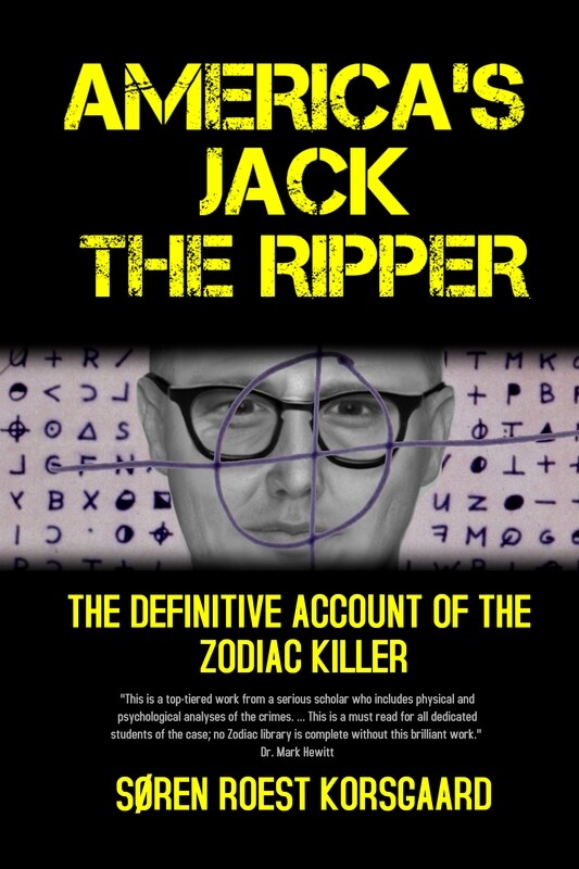 HARDCOVER: AMERICA'S JACK THE RIPPER: THE DEFINITIVE ACCOUNT OF THE ZODIAC KILLER