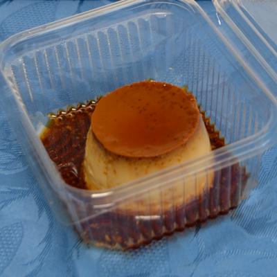Crème caramel cotto in forno