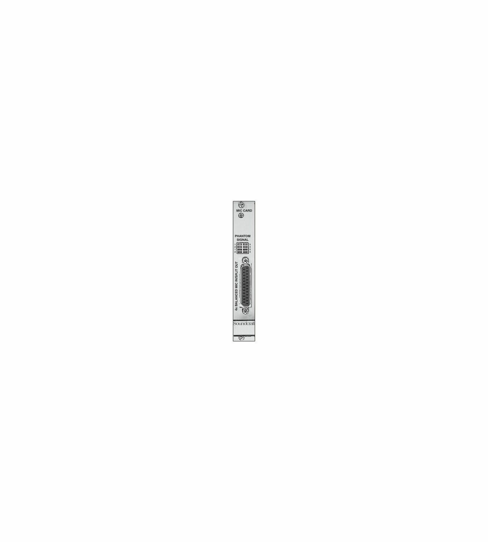 RS2423SP - Carte 4 entrées micro + talkback pour rack local Vi - vend