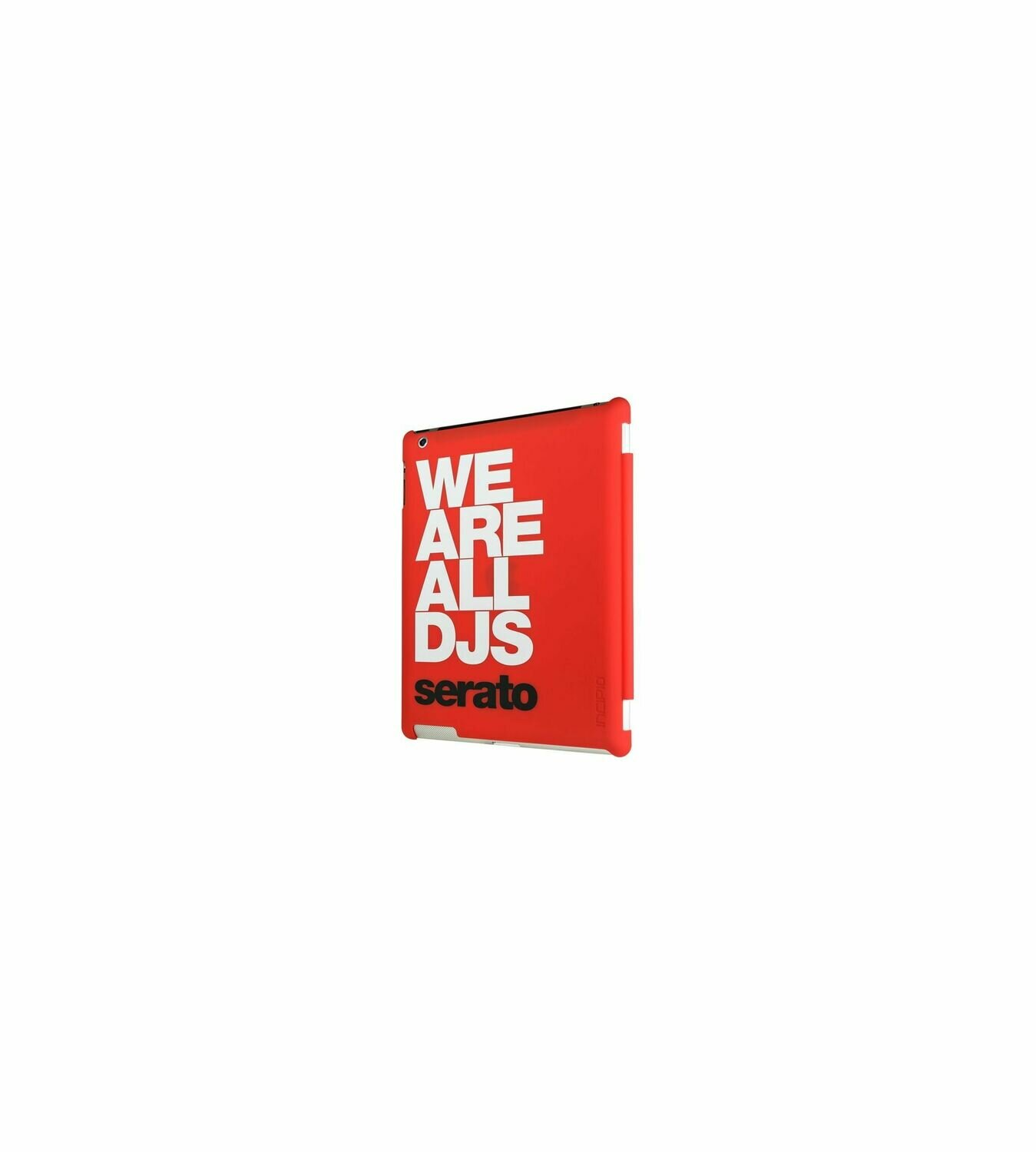 NS Cover pour iPad We are all DJs, rouge