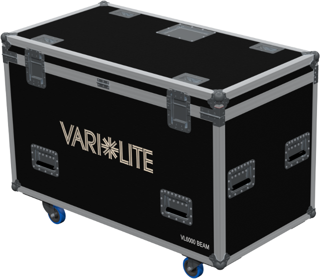 FLIGHT-CASE 2 x VL6000 AMPTOWN CASES