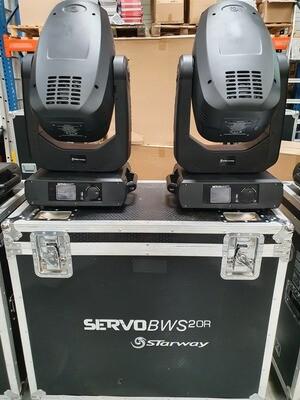 Servo BWS 20R - par 2 en flight-case