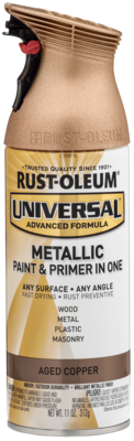 Rust-Oleum Metallic Spray Paint and Primer