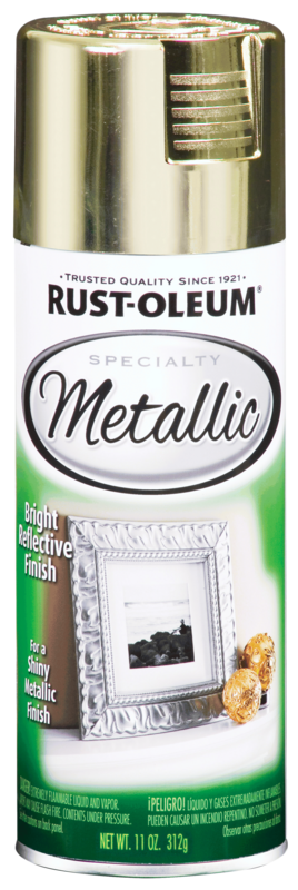Rust-Oleum Specialty Metallic Spray Brass Paint