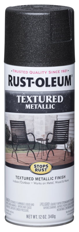 Rust-Oleum Textured Metallic Spray Paint
