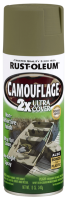 Rust-Oleum Camouflage Spray Paint