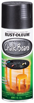 Rust-Oleum Chalkboard Black Spray Paint