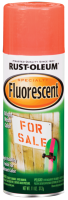 Rust-Oleum  Fluorescent Spray Paint