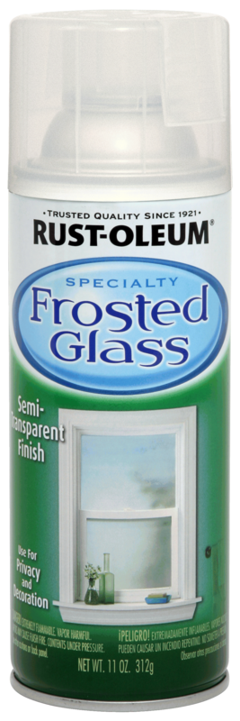 Rust-Oleum Frosted Glass Spray Paint