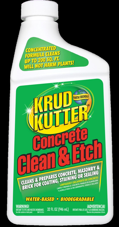 Krud Kuttter Concrete Clean & Etch