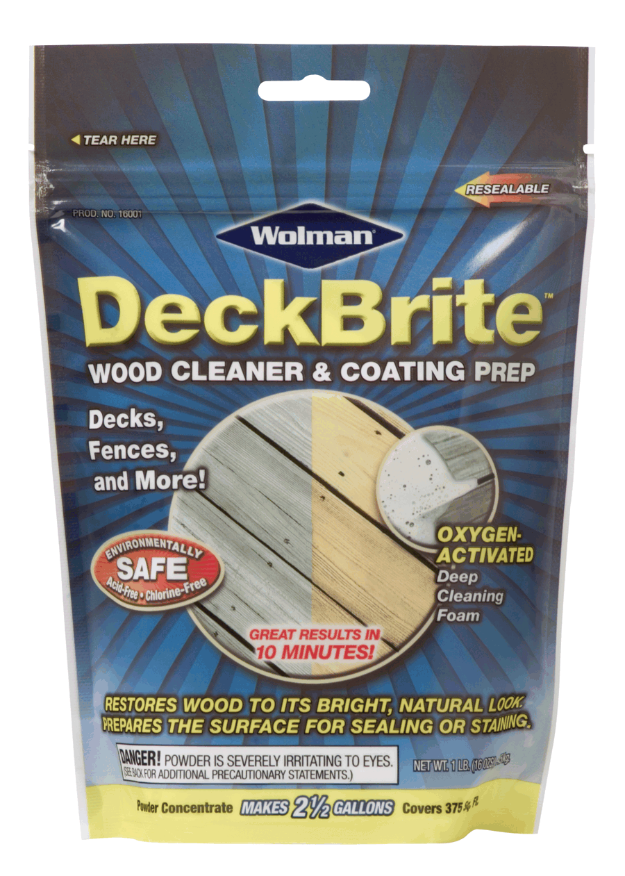 Wolman DeckBrite Wood Cleaner And Coating Prep