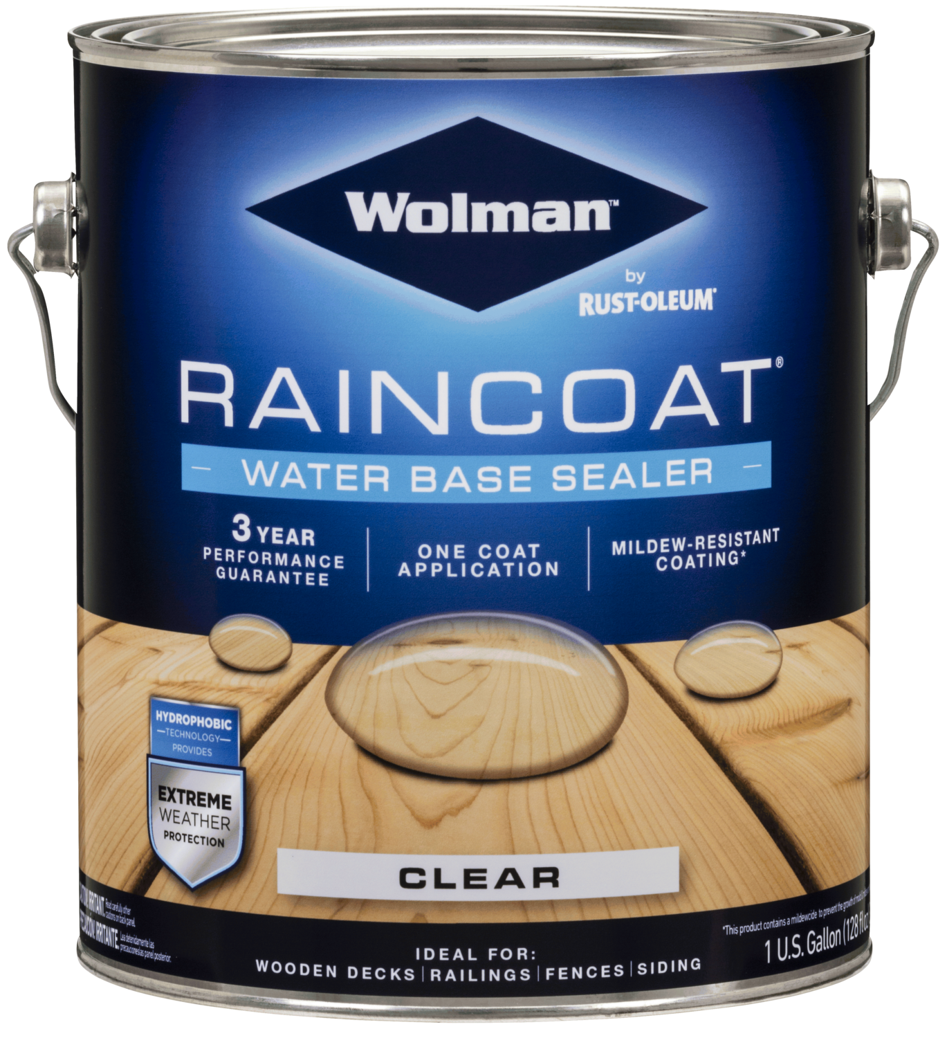 Wolman Raincoat Waterbase Sealer Clear