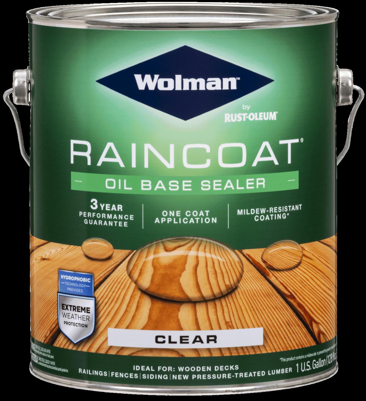 Wolman Raincoat Oil Based Clear