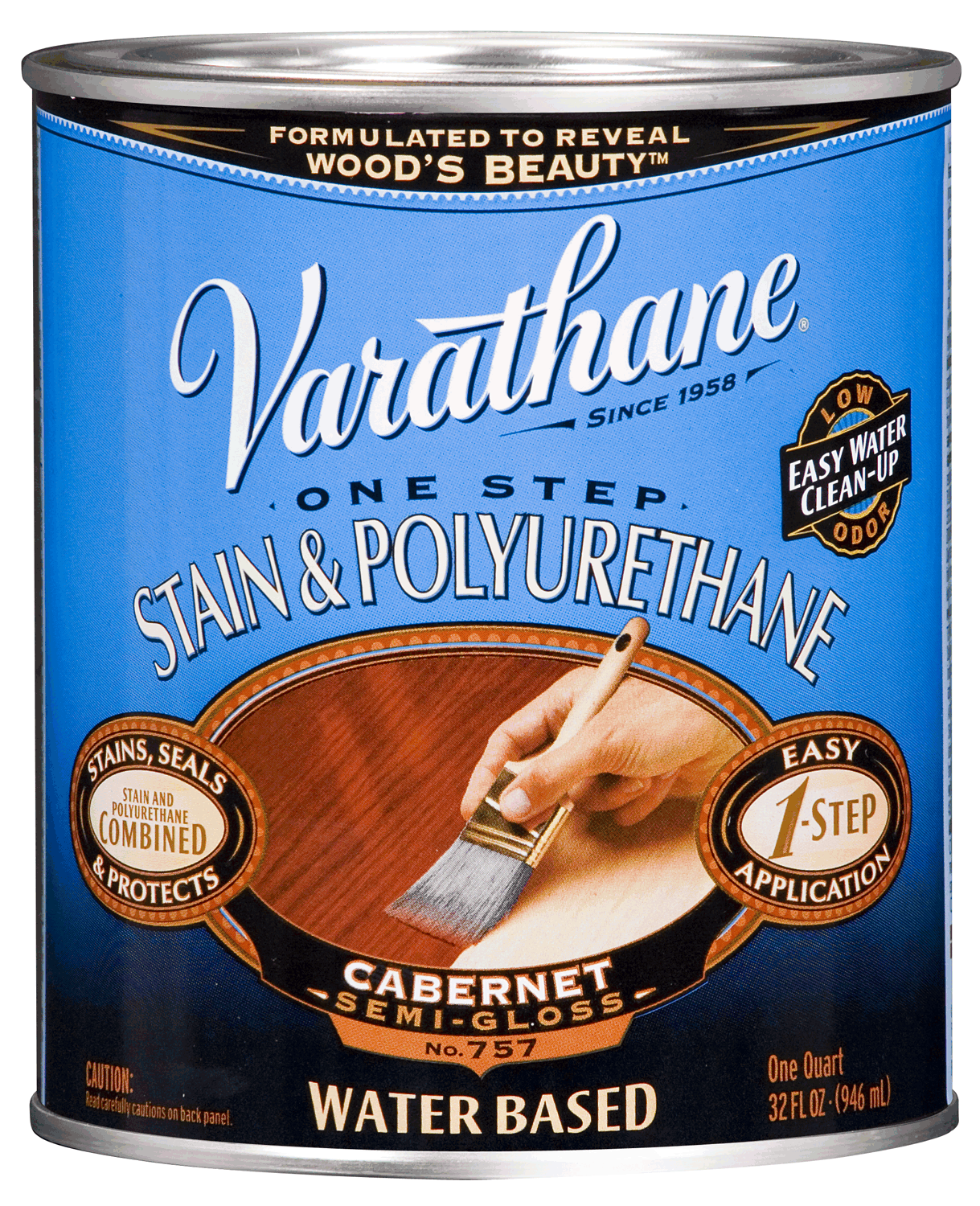 Varathane One Step Stain and Polyurethane Water Based