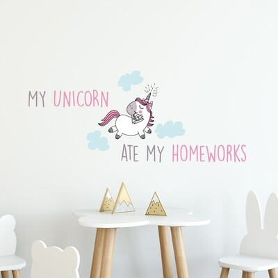 My Unicorn Wall Sticker
