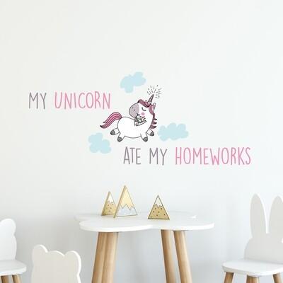 Crearreda 15105 - My Unicorn Wall Sticker