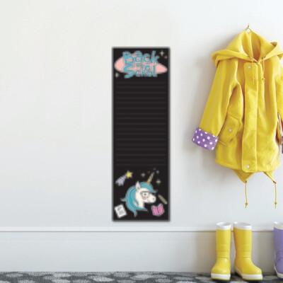 Crearreda 15201 - Blackboard Unicorn Wall Sticker