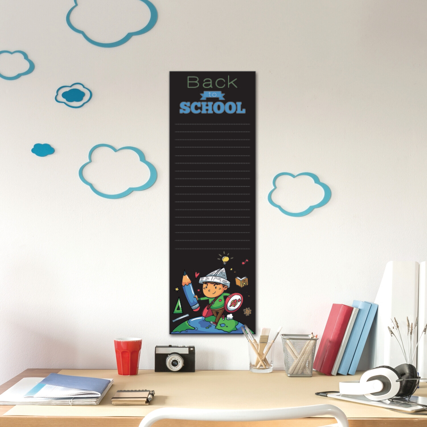 Blackboard Superboy Wall Sticker