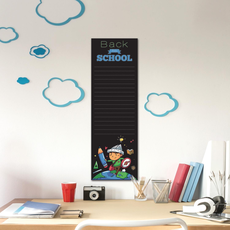 Blackboard Superboy Wall Sticker