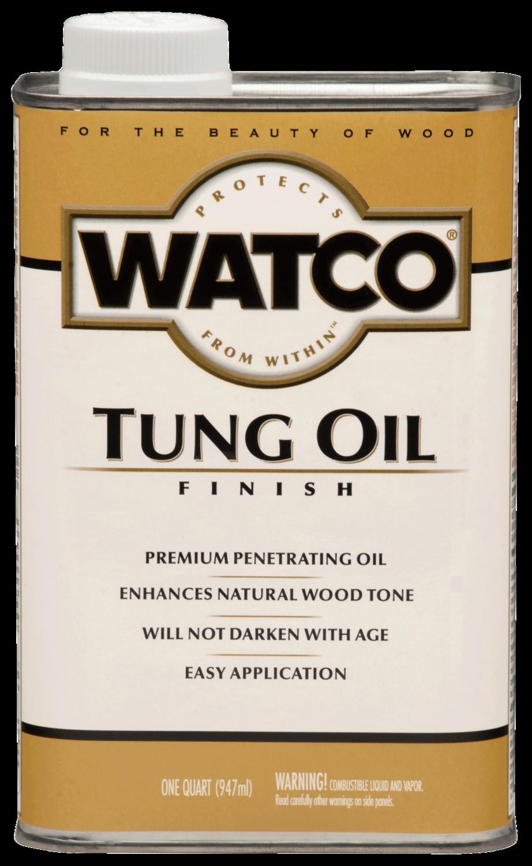 Watco Tung Oil Finish