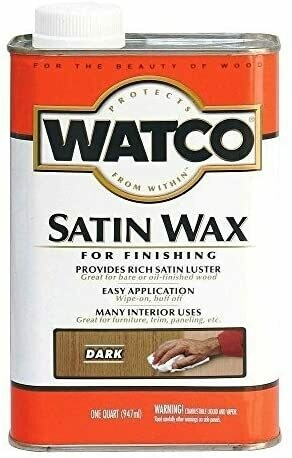 Watco Wax For Natural Finishing