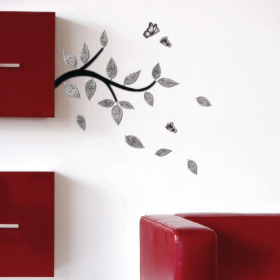 Branch Self Adhesive Removable Foam Sticker