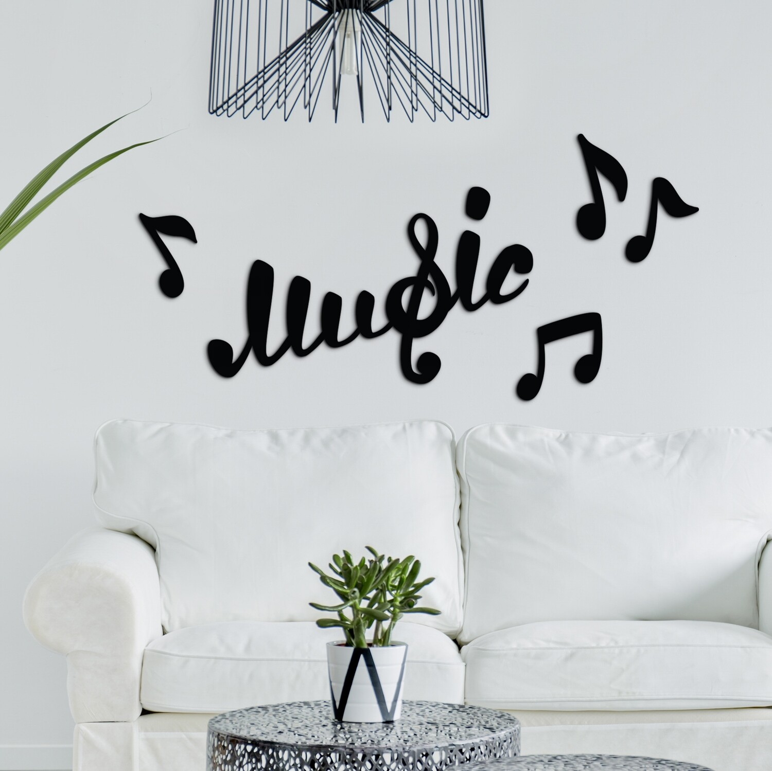 Music Self Adhesive Removable Foam Sticker