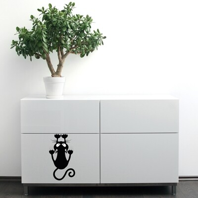 Cat Self Adhesive Wall Sticker