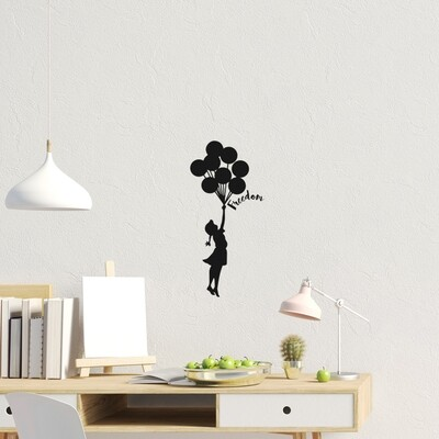 Freedom Self Adhesive Wall Sticker