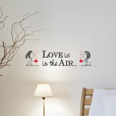 Crearreda 62039 - Love Is Self Adhesive Wall Quote