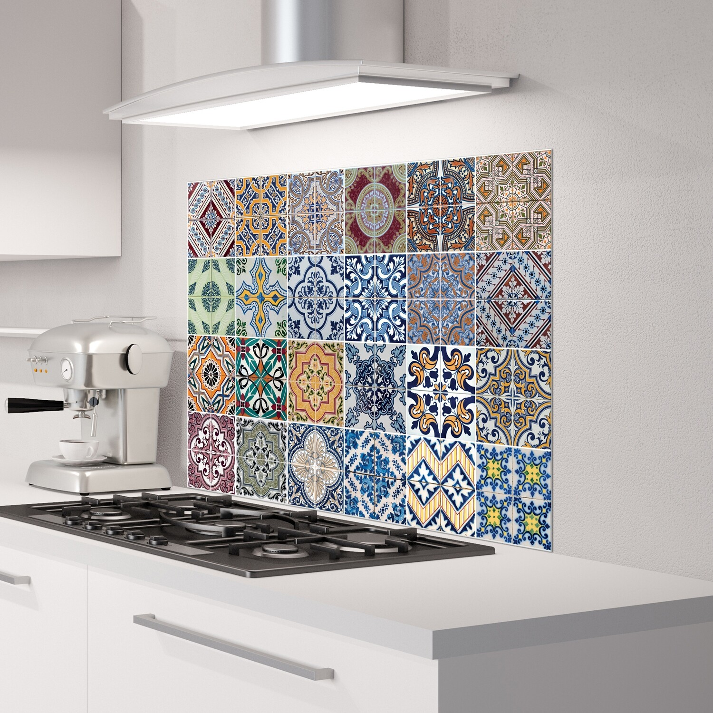 Azulejos Self Adhesive Kitchen Panels