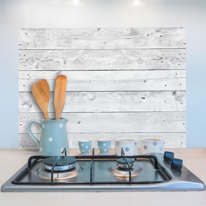 Grey Wood Self Adhesive Kitchen Panel