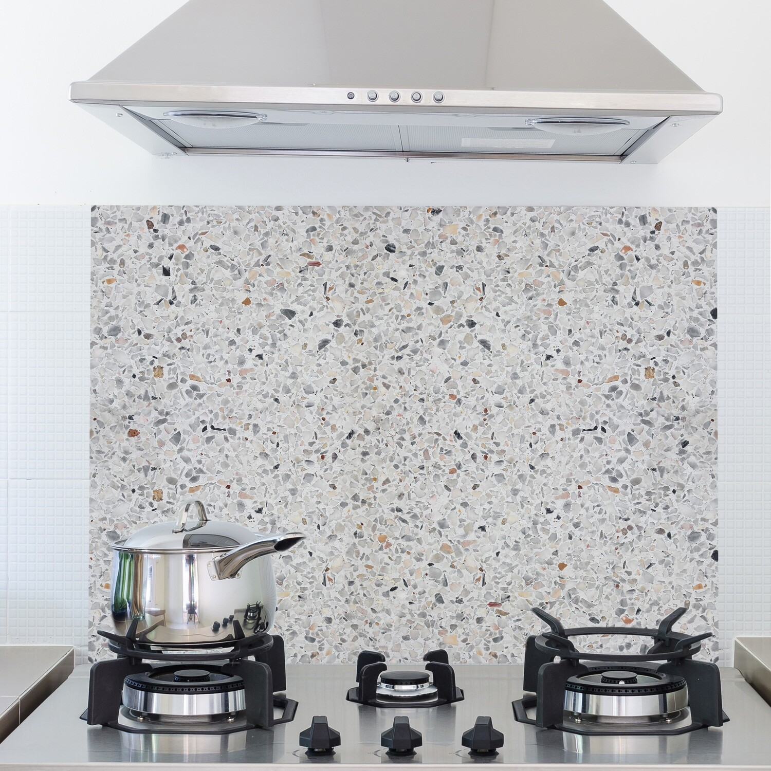 Terrazzo Ciment Self Adhesive Kitchen Panel