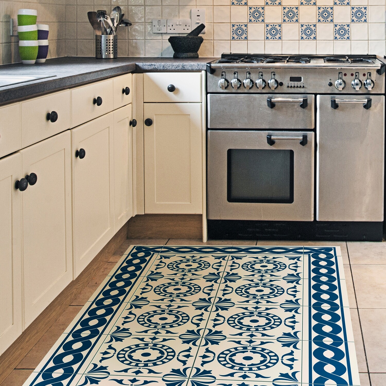 Tile Carpet Self Adhesive Vinyl Runner