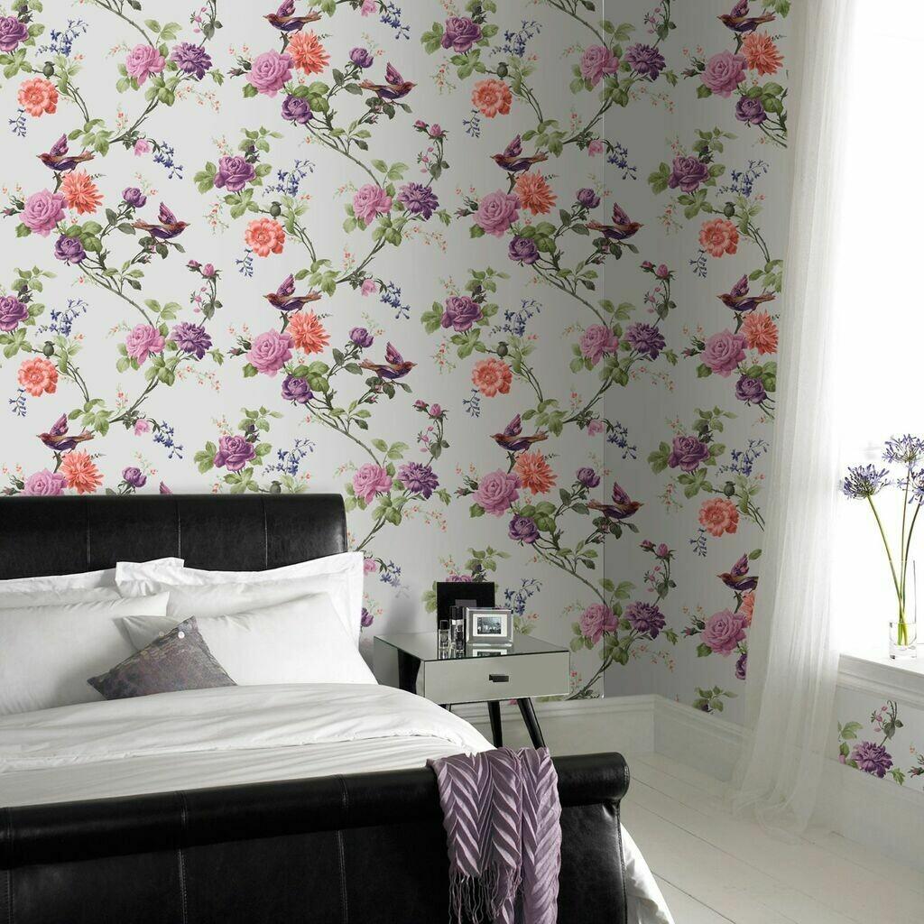 Oriental Multi Wallpaper