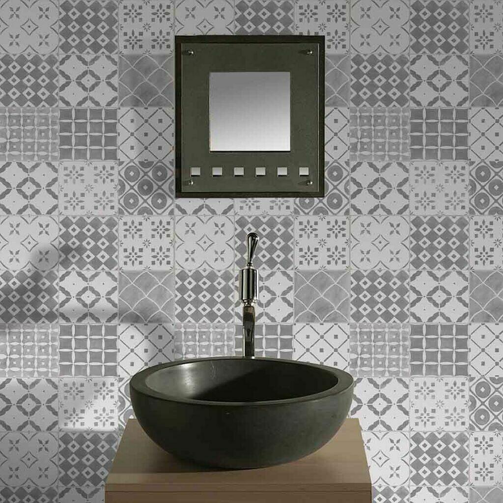Porches Grey Wallpaper