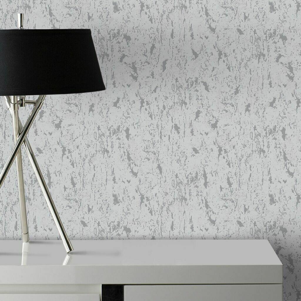 Milan Silver Wallpaper