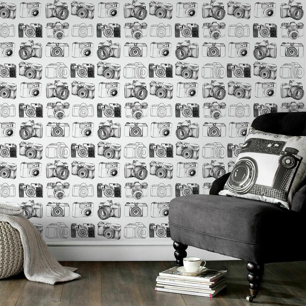 Camera Black And White Wallpaper