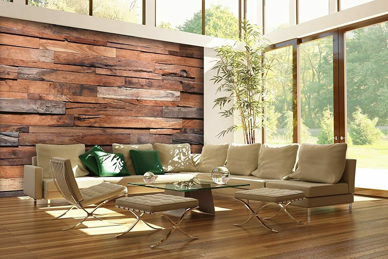 Wooden Wall Wall Mural