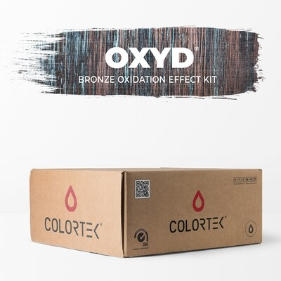 Oxyd - Bronze Oxidation Effect Paint Kit for 5 sqm