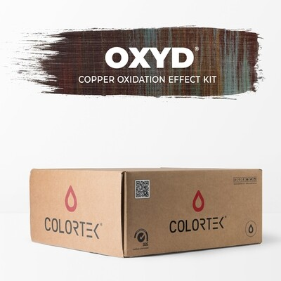 Oxyd - Copper Oxidation Effect Paint Kit 5 sqm