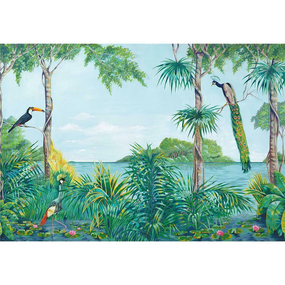 Blue Lagoon Wall Mural