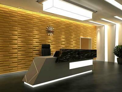 Sandstone 3D Wall Panel