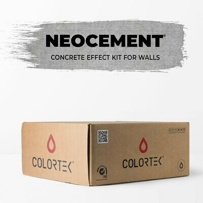 Neocement - Concrete Effect Kit for Walls 4 sqm
