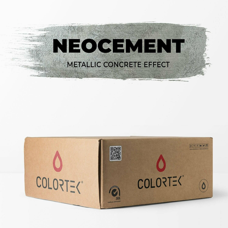 Neocement - Metallic Concrete Effect Kit for Walls 4 sqm