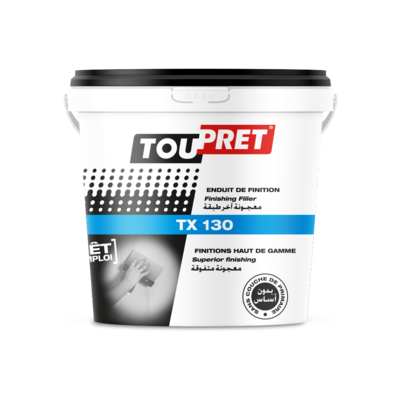 Toupret TX 130 High-Quality Surface Filler