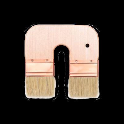 U Shaped Double Color Brush